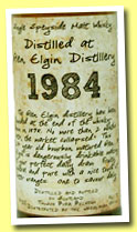 Glen Elgin 27 yo 1984/2011 (46.1%, Thosop Import, bourbon hogshead, 213 bottles)