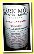 Glen Elgin 17 yo 1995/2013 (46%, Carn Mor, Strictly Limited, 734 bottles)