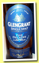 Glen Grant 'Five Decades' (46%, OB, +/-2013)