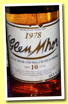 Glen Mhor 10 yo 1978/1989 (65.3%, Gordon & MacPhail for Intertrade, 300 bottles)