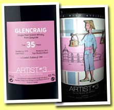 Glencraig 35 yo 1976/2013 (43.7%, La Maison du Whisky, Artists #3, bourbon barrel, cask #4257, 194 bottles)