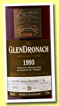 Glendronach 20 yo 1993/2013 (52,6%, OB for The Whisky Fair, oloroso sherry butt, cask #13, 668 bottles)