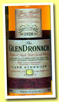 Glendronach 'Cask Strength' (54.9%, OB, batch 3, 2013)