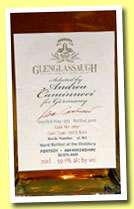 Glenglassaugh 1972/2010 (59.3%, OB, Andrea Caminneci for Germany, refill hogshead, cask #2891, 303 bottles)