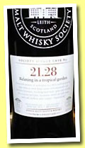 Glenglassaugh 37 yo 1974 (48.1%, Scotch Malt Whisky Society, #21.28, 'Relaxing in a tropical garden', 188 bottles, +/-2012)