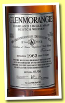 Glenmorangie 22 yo 1963 (43%, OB, one year Oloroso finish)