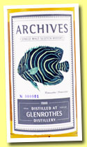 Glenrothes 25 yo 1988/2013 (53%, Archives, refill sherry hogshead, cask #7318, 213 bottles)