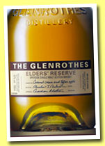 Glenrothes 'Elder's Reserve' (43%, OB, Manse Brae series, travel retail, 2013)
