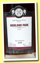 Highland Park 1998/2012 (57.4%, Malts of Scotland, sherry hogshead, cask #MoS 12058, 189 bottles)