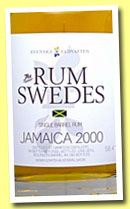 Jamaica 2000/2013 (58.4%, Rum Swedes, bourbon barrel, cask #4, 185 bottles)