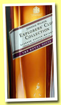 Johnnie Walker 'The Royal Route' (40%, OB, Explorers' Club Collection, blend, travel retail, 2013)