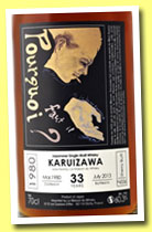 Karuizawa 33 yo 1980/2013 (60.3%, OB for La Maison du Whisky, sherry butt, cask #4556)