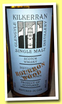 Kilkerran 9 yo 2004/2013 'Work in Progress - Bourbon Wood' (46%, OB, batch #5)