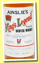 King's Legend (40%, Ainslie's, blend, +/-1975)