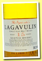 Lagavulin 15 yo (58.2%, The Syndicate, +/-1995?)