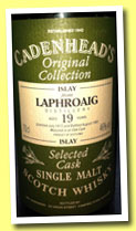 Laphroaig 19 yo 1972/1991 (46%, Cadenhead, Original Collection)
