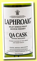 Laphroaig 'QA Cask' (40%, OB, travel retail, 100cl, 2013)