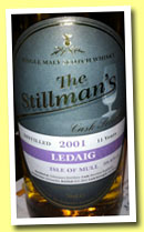 Ledaig 11 yo 2001/2012 (58.6%, The Stillman's, bourbon hogshead, 335 bottles)