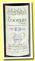 Longmorn 32 yo 1969/2001 (56%, Coopers Choice, Sherry)