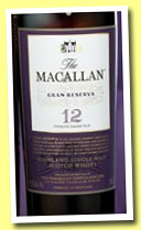 Macallan 12 yo 'Gran Reserva' (45.6%, OB, for Taiwan, 2007)
