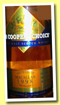 Macallan 15 yo 1998/2013 (46%, The Coopers Choice, hogshead, cask #9452, 345 bottles)