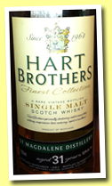 St Magdalene 31 yo 1982/2013 (53.5%, Hart Bros, Finest Collection)