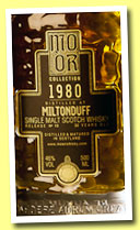 Miltonduff 30 yo 1980/2010 (46%, Mo Or Collection, bourbon hogshead, cask #12431, 321 bottles)