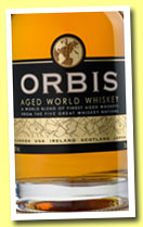 Orbis Aged World Whiskey (40%, St. James Distillery, +/-2013)