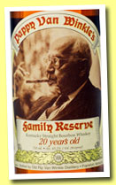 Pappy van Winkle 20 yo 'Family Reserve' (45.2%, OB, straight bourbon, 2012)