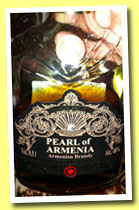 Pearl of Armenia 'XO' (40%, OB, Armenian brandy, +/-2013)