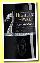 Highland Park 'Ragnvald' (44.6%, OB, travel retail, 70cl, 2013)