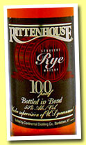 Rittenhouse (100° US proof – 50%, OB, USA, Straight Rye, +/-2012)