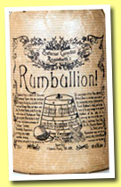 Rumbullion! Navy-Strength (57%, Master of Malts, Professor Cornelius Ampleforth, +/-2013)
