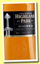 Highland Park 'Sigurd' (43%, OB, travel retail, 70cl, 2013)