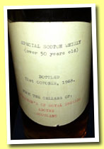 Special Scotch Whisky 50 yo (Strachan's of Royal Deeside, bottled October 31, 1968)