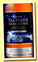Talisker 'Dark Storm' (45.8%, OB, travel retail exclusive, 2013)