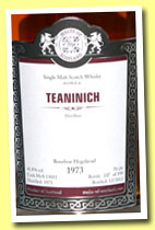 Teaninich 1973/2013 (41.8%, Malts of Scotland, bourbon hogshead, cask #MoS 13011, 198 bottles)