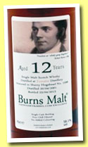 Tomatin 12 yo 2001/2013 (58.1%, The Whisky Barrel, Burns Malt, first fill sherry hogshead, cask #1598)