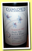 Tomintoul 46 yo 1967/2013 (40%, Samaroli for Switzerland, cask #5417, 250 bottles)