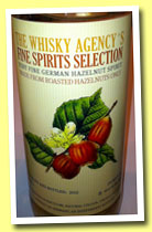 German Hazelnut Spirit 2012 (40%, The Whisky Agency, 270 bottles)