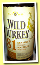 Wild Turkey '81' (40.5%, OB, Kentucky straight bourbon, +/-2013)