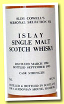 Slim Cowell's Personal Selection VII Islay 1980/1993 (60%, Slim Cowell)